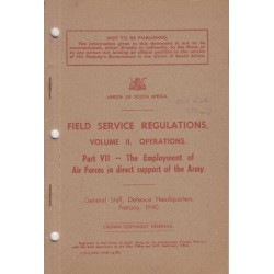 Field Service Regulations Volume III, Operations Higher Formations, 1935