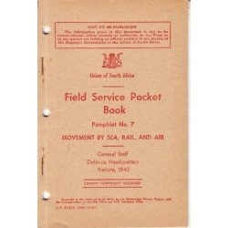 Field Service Pocket Book Pamphlet No. 7: Movement