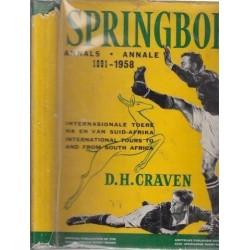 Springbok Annals / Annale 1891-1958