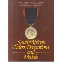South African Orders, Decorations and Medals