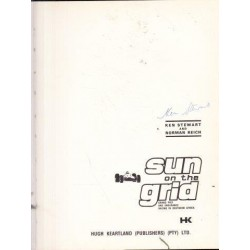 Sun on the Grid: Grand Prix and Endurance Racing in Southern Africa (Signed by Ken Stewart)