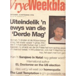 Vrye Weekblad No. 198 30 Oktober - 5 November 1992
