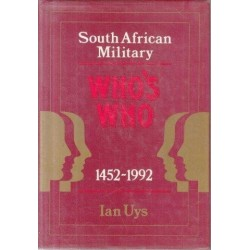 South African Military Who's Who 1452-1992