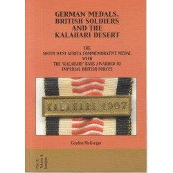 German Medals, British Soldiers and the Kalahari Desert