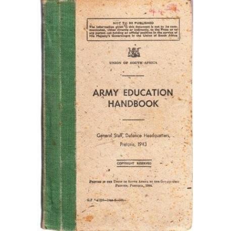 Army Education Handbook