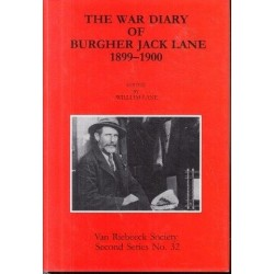 The War Diary of Burgher Jack Lane 1899-1900