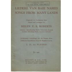 Liedere van Baie Nasies - Songs from Many Lands