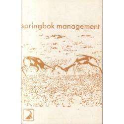 Springbokbestuur/Springbok Management