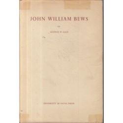 John William Bews - a Memoir