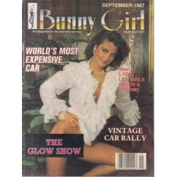 Bunny Girl Magazine Septmeber 1987