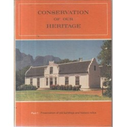 Conservation of Our Heritage