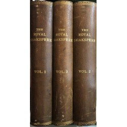 The Royal Shakspere: Complete 3 Volume Set