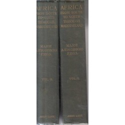 Africa from South to North Through Marotseland. 1st ed.