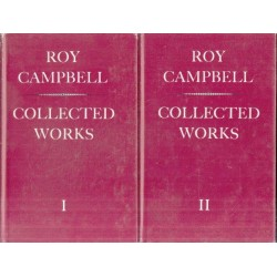 Roy Campbell: Collected Works 2 Vols
