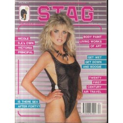 Stag - The Man's Magazine February 1987 (Vol. 06 No. 8)
