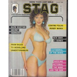 Stag - The Man's Magazine February 1984 (Vol. 07 No. 8)