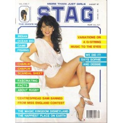 Stag - The Man's Magazine August  1987 (Vol. 06 No. 7)