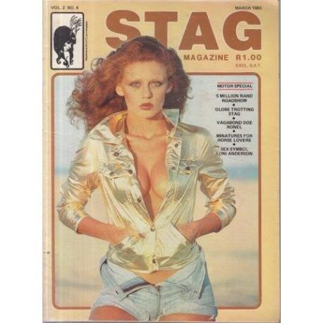 Stag - The Man's Magazine March 1983 (Vol. 02 No. 4)