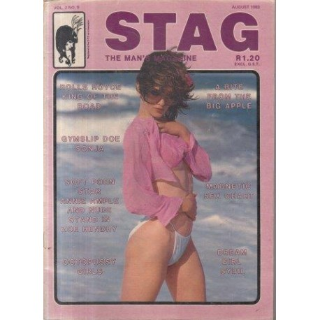 Stag - The Man's Magazine August 1983  (Vol. 02 No. 9)