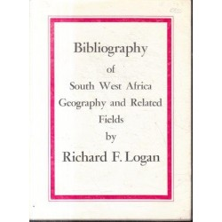 Bibliography of South West Africa - Geography and Related Fields