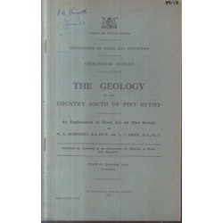 The Geology of the Country South of Piet Retief