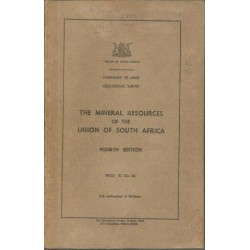 The Mineral Resources of the Union of South Africa