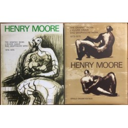 Henry Moore: Catalogue of Graphic Work Vols II & III 1973-1980 (Signed, limited deluxe editon)
