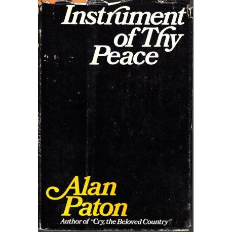 Instrument of Thy Peace