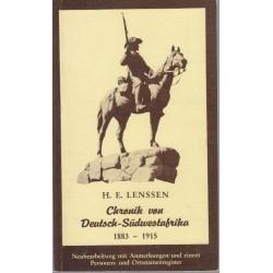 Chronik Von Deutsch-Sudwestafrika