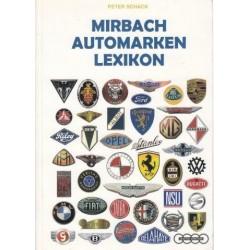 Mirbach Automarken Lexicon