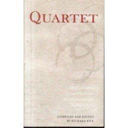Quartet: New Voices From South Africa (signed by James Matthews)