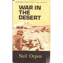 War in the Desert (vol 3 of SA Forces World War II)