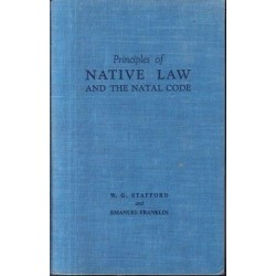 Principles of Native Law and the Natal,  Code