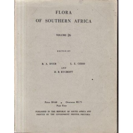 Flora of Southern Africa Vol 26