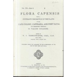 Flora Capensis Vol VII Part I