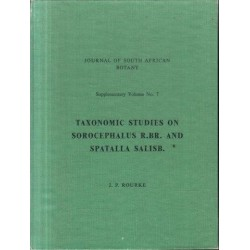 Taxonomic Studies on Sorocephalus r.br and Spatalia salisb.