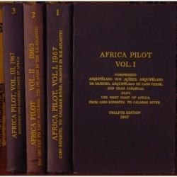 Africa Pilot,  Vols 1-3