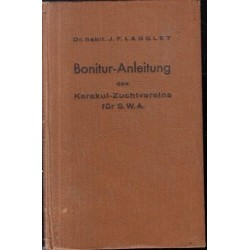 Bonitur-Anleitung des Karakul-Zuchtvereins fur SWA