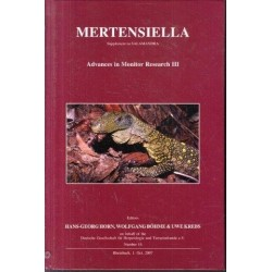 Mertensiella: Advances in Monitor Research III