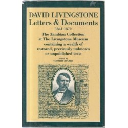 David Livingstone Letters and Documents
